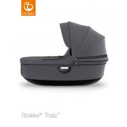 Stokke Trailz carrycot Black Black Melange