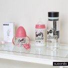 Suavinex wide nech bottle 3p silicone teat 150ml