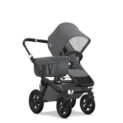Bugaboo Donkey² Classic Collection Black/Grey Melange