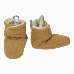 Lodger Slipper Fleece Botanimal Caramel