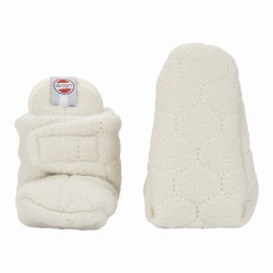 Lodger Slipper Fleece Botanimal Ivory