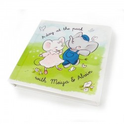 Meiya & Alvin A Day At The Park Children's Hardcover Book