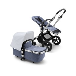 Bugaboo Cameleon³ plus base Alu/Blue Melange
