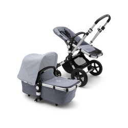 Bugaboo Cameleon³ plus base Alu/Grey Melange