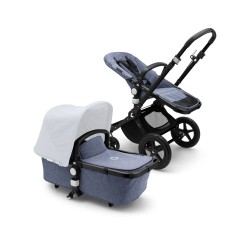 Bugaboo Cameleon³ plus base Black/Blue Melange