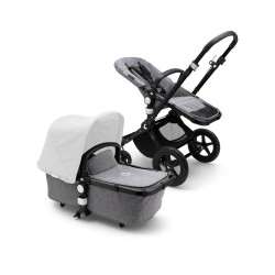 Bugaboo Cameleon³ plus base Black/Grey Melange
