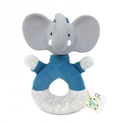 Meiya & Alvin Soft Easy Grip Rattle Alvin The Elephant