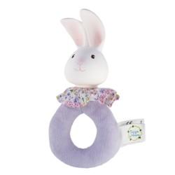 Meiya & Alvin Soft Easy Grip Rattle Havah The Bunny