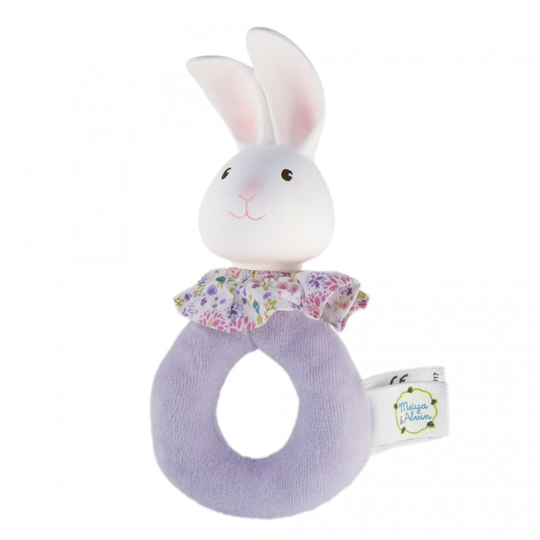 Meiya & Alvin Soft Easy Grip Rattle Havah The Bunny