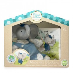 Meiya & Alvin Mini Alvin Teether Gift Set with Book