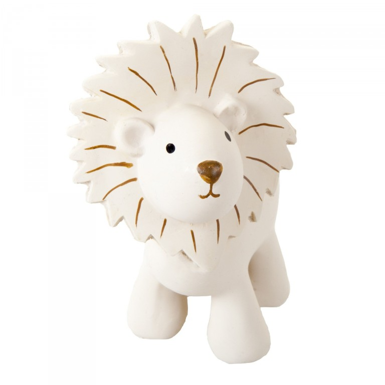 Tikiri Zoo pure natural rubber teether & squeaker Lion