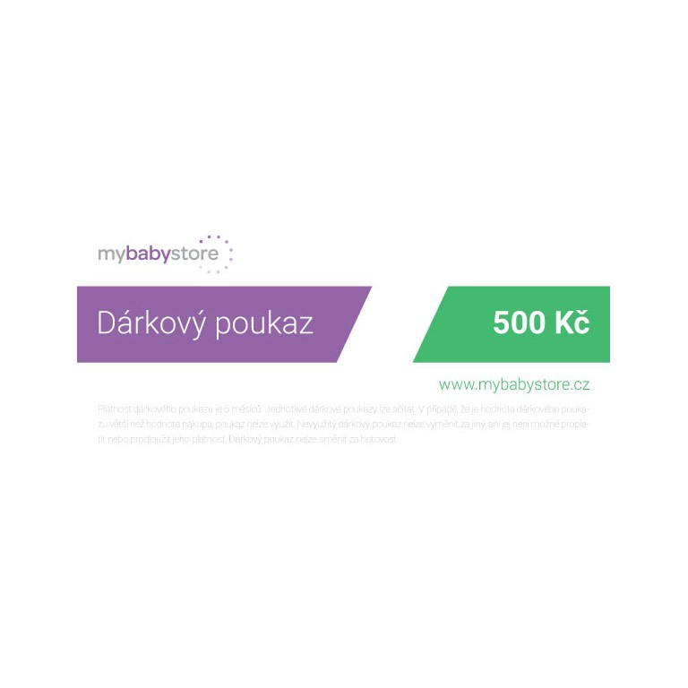 Gift Card 500 CZK