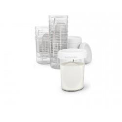 Suavinex skladovací pohárky 200ml 10ks