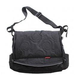 Aesthetic taška na kočárek prošev Černá prošev spirála