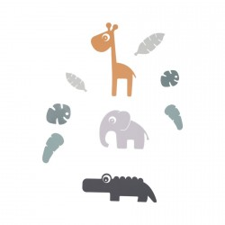 Done by Deer samolepky na zeď Tiny Tropics