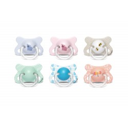 Suavinex Fusion soother anatomic silicone -2-4m