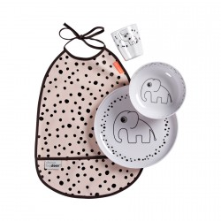 Done by Deer Happy Dots Starter Dinner Set