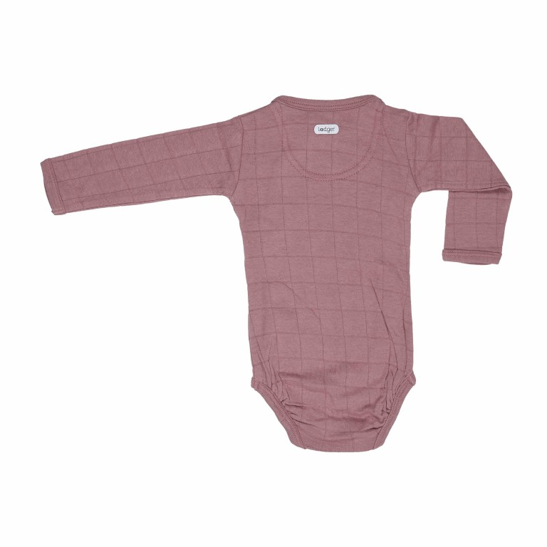 Lodger Body Romper Long Sleeve Solid Plush