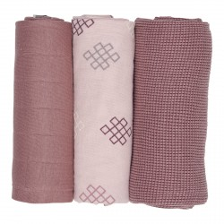 Lodger Swaddler Empire Knot 70x70cm 3ks