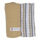 Lodge Swaddler Stripe Xandu 120x120cm
