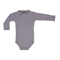 Lodger Body Romper Long Sleeve Solid Mist
