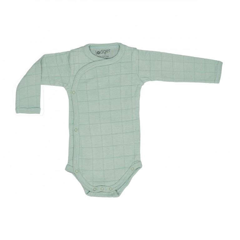 Lodger Body Romper Long Sleeve Solid Silt Green