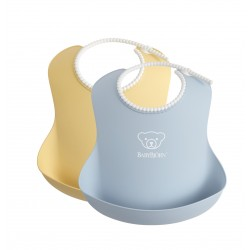 BabyBjörn soft bib Powder Yellow/Blue
