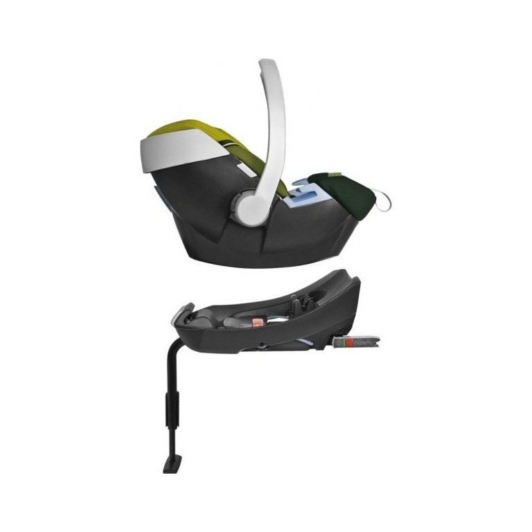 cybex aton base 2 fix z kladna na isofix cybex. Black Bedroom Furniture Sets. Home Design Ideas