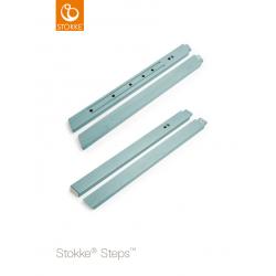 Stokke Steps nohy židličky Aqua Blue