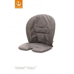 Stokke Steps Cushion seat Geometric Grey