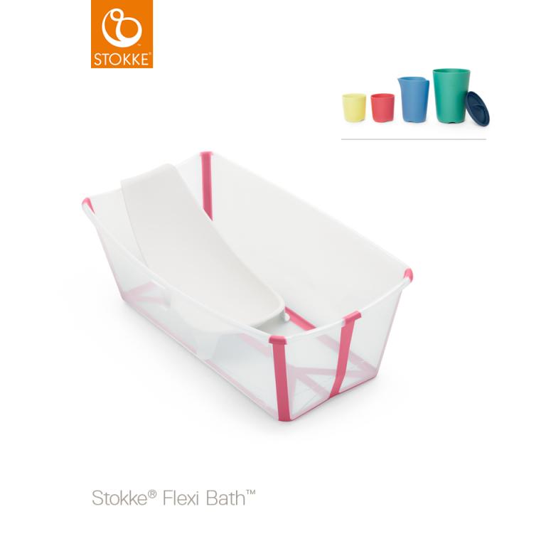 Stokke Flexi Bath + Flexi Bath Support