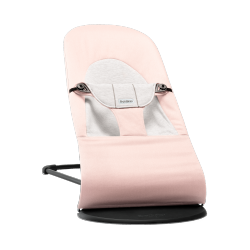 BabyBjörn Bouncer Balance Soft Jersey Light Pink/Grey, Cotton/Jersey