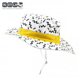 Kietla klobouček oboustranný s UV ochranou 12-18 měsíců ZIG ZAG