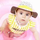 Kietla klobouček oboustranný s UV ochranou 6-12 měsíců