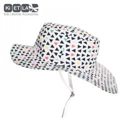Kietla klobouček oboustranný s UV ochranou 12-18 měsíců Fun Fair