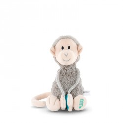 Matchstick Monkey Plush Monkey with Velcro Arm Small
