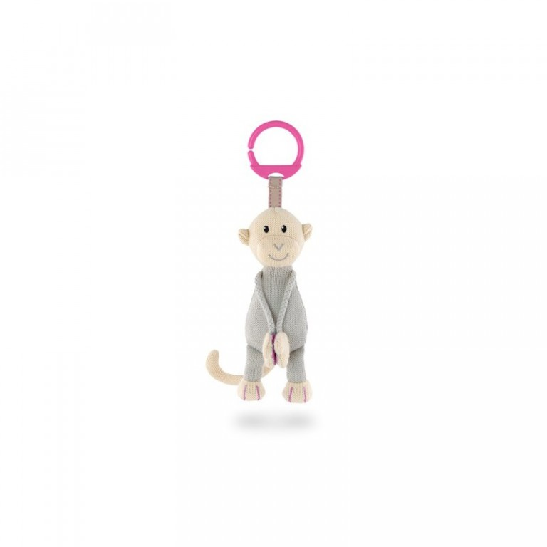 Matchstick Monkey Knitted Hanging Monkey