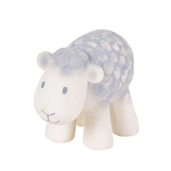 Tikiri Farm pure natural rubber teether & squeaker Sheep