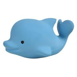 Tikiri Ocean pure natural rubber teether & squeaker Dolphin