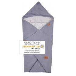 Voksi® Baby Wrap Baby Blanket Star Light Grey