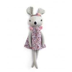 Mamas & Papas Abigail Brown Mouse Soft Toy