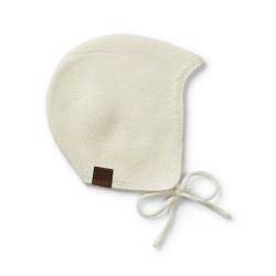 Elodie Details vintage cap helmet 0-3m Vanilla White