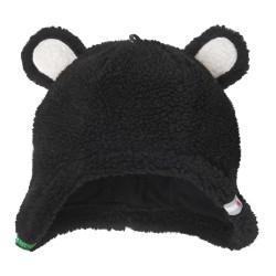 Lodger čepice Hatter Fleece Teddy 3-6m Black