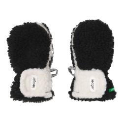 Lodger Mittens Teddy 1-2y Black