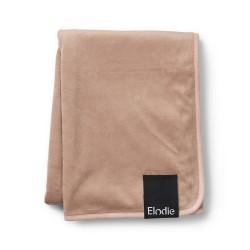 Elodie Details sametová deka 70x100cm Faded Rose new