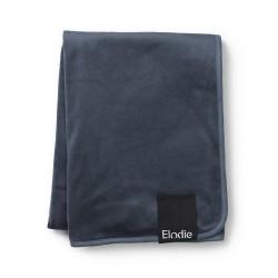 Elodie Details sametová deka 70x100cm Juniper Blue