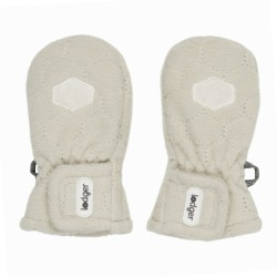 Lodger Mittens Ivory