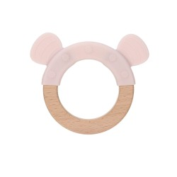 Lässig Teether Ring Wood Little Chums