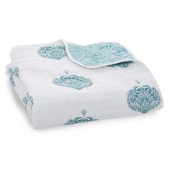 Aden + Anais Classic Dream Blanket Paisley - Teal