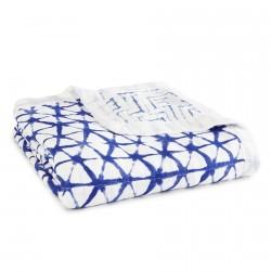 Aden + Anais Silky Soft Dream Blanket Indigo